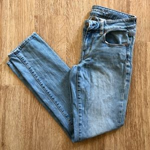 American Eagle Skinny Stretch Light Wash Jeans